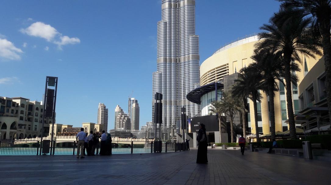 Burj Khalifa, Dubai || jejak kaki franky