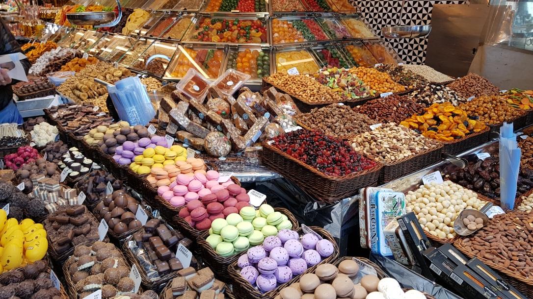Jajanan Pasar di Barcelona #Spanyol