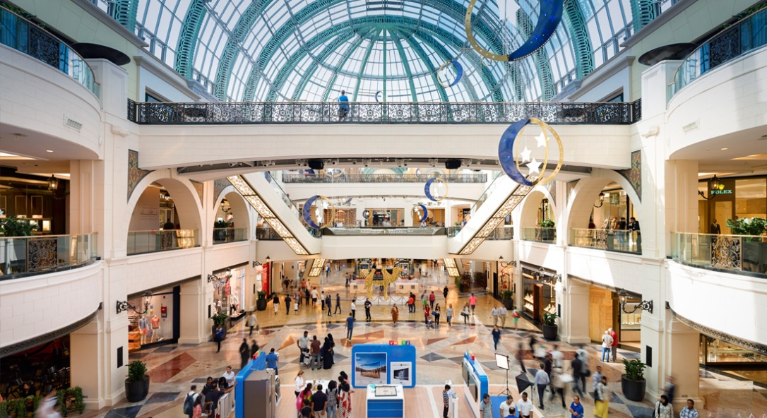 emirates mall, jejak kaki franky